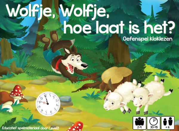 Wolfje, Wolfje hoe laat is het?