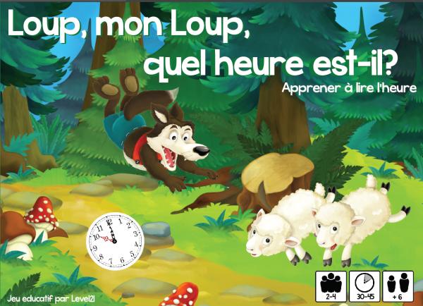 Loup, mon loup quel heure est-il?